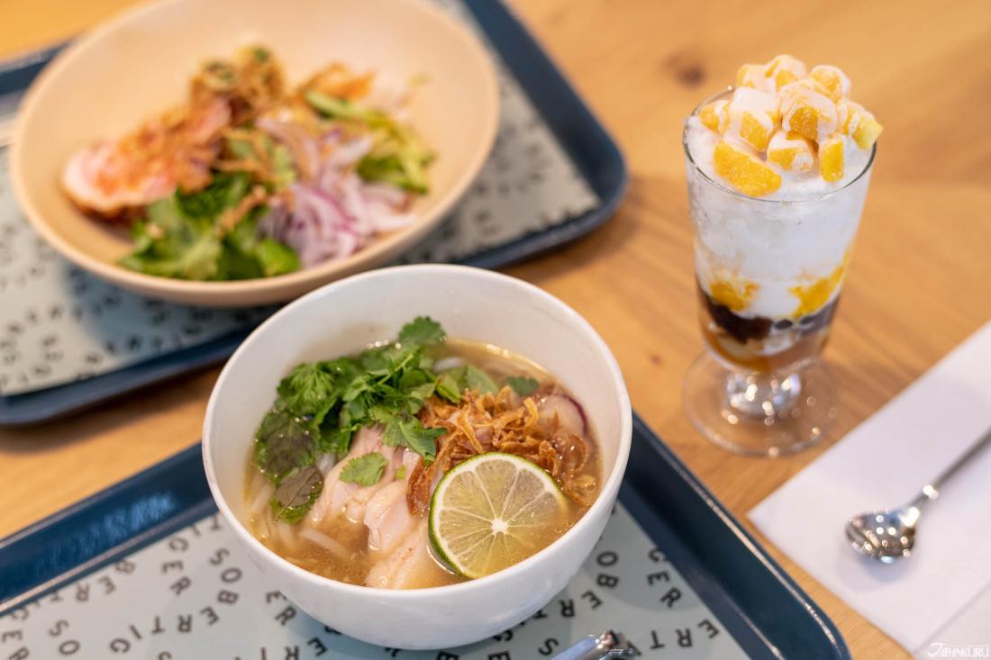 越南餐点及和饭后点心