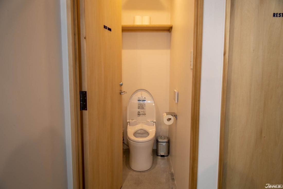 18인 타입 숙박객 전용 화장실