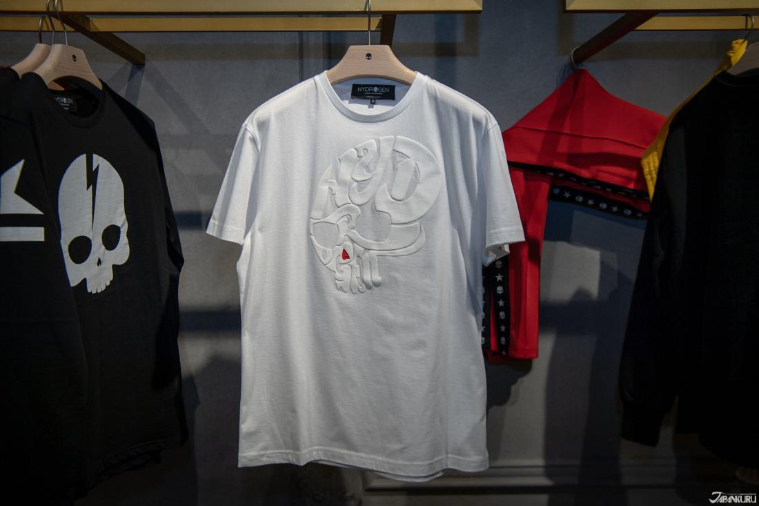 Áo thun T-shirt cổ điển h sọ áo thun chỉ có tại cửa hàng Omotesando