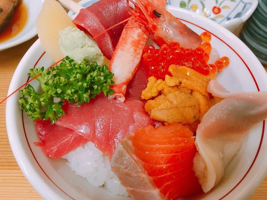 若葉壽司。竹海鮮丼:1600日圓