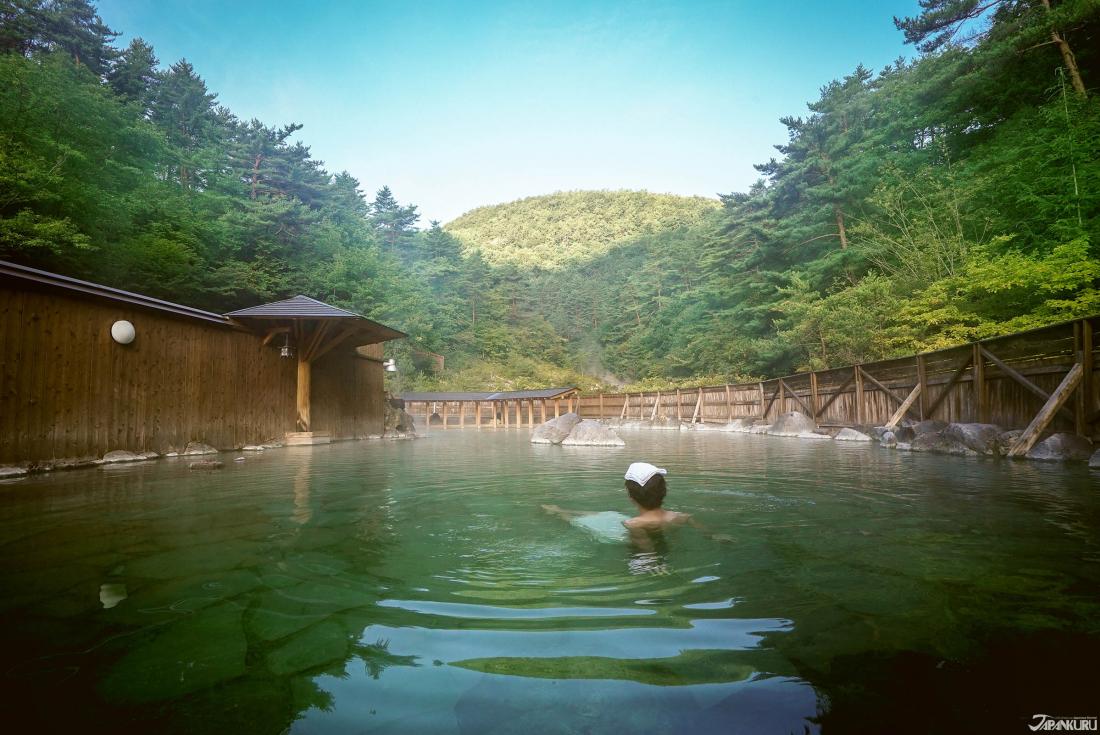 Kusatsu, Gunma - Sainokawara Rotenburo (西の河原露天風呂)