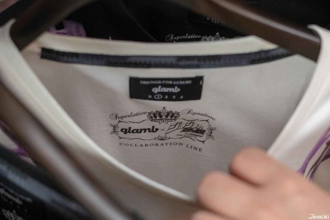 Mẫu áo của Glamb x JoJo Bizarre Adventure