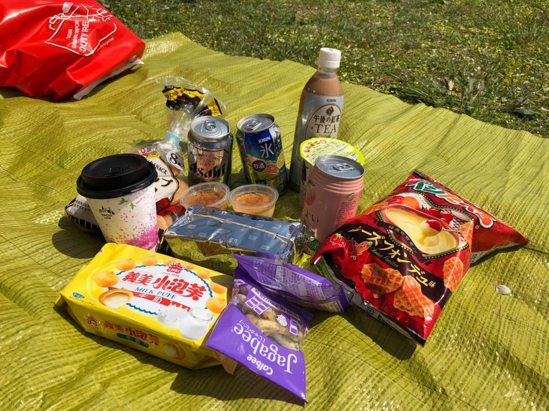 跟日本人一樣花見野餐一下吧!