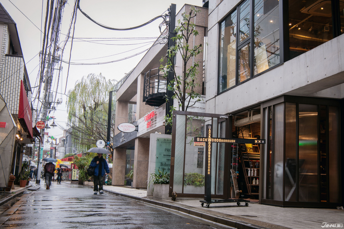 BACKWOODS BOROUGH ในฮาราจูกุ