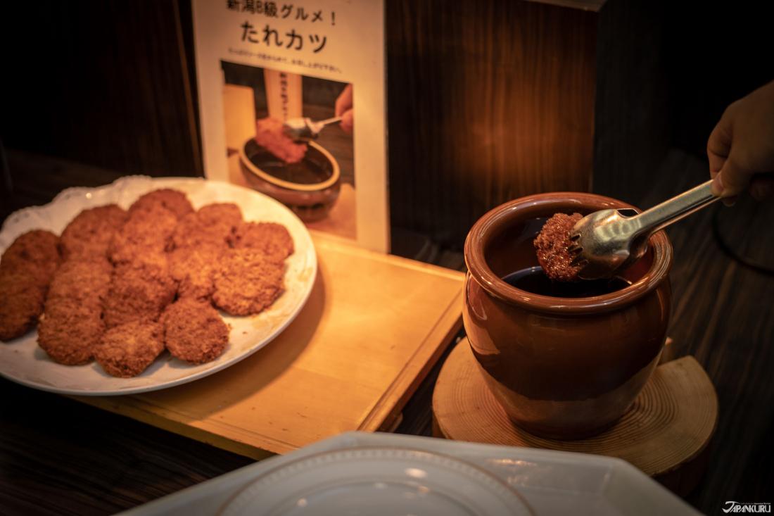 tarekatsu (タレカツ) อาหารของนีกาตะ