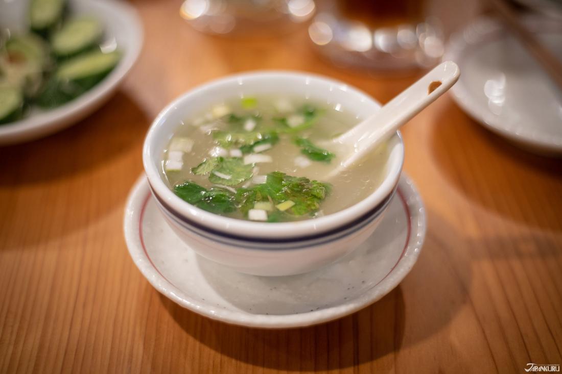 어양탕 [魚羊湯] 400엔