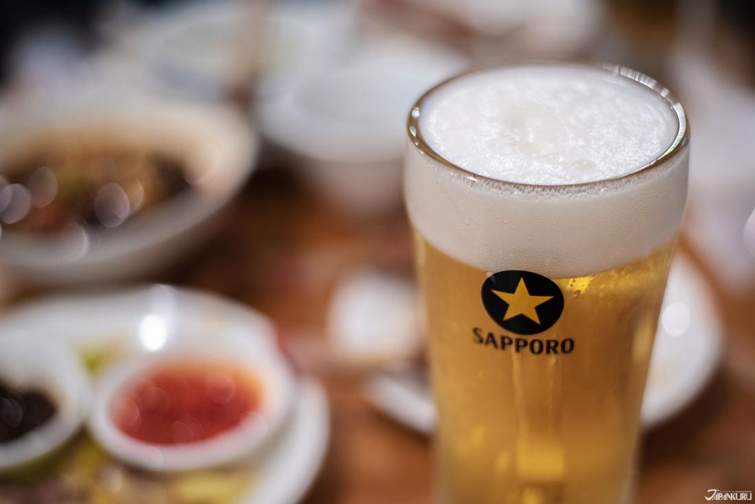 역시 삿포로 맥주