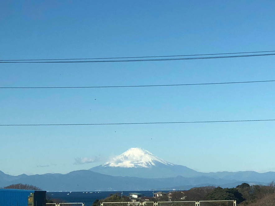 Núi Phú Sĩ nhìn từ công viên