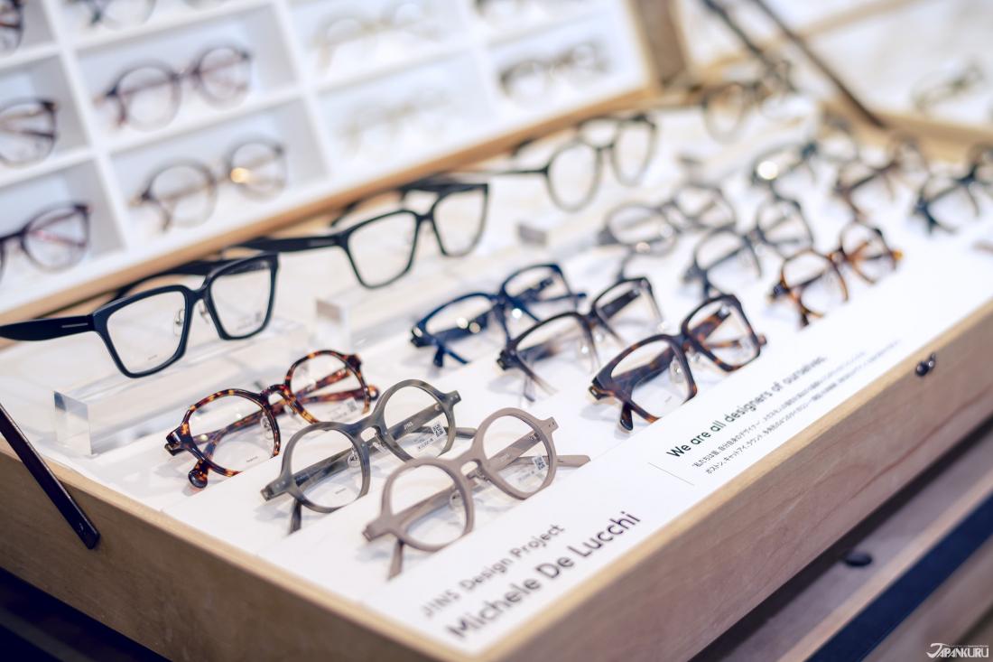 고전적인 디자인의 안경