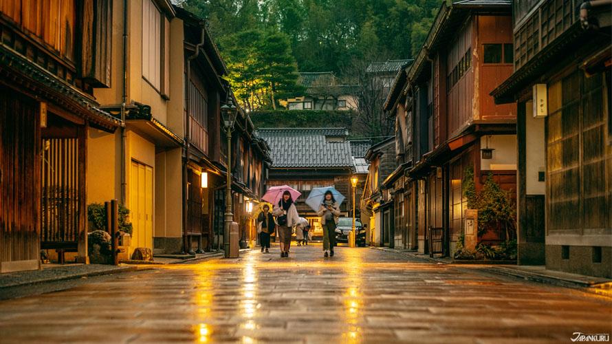 金泽东茶屋街:城下町的繁华街 品旧时花街趣味