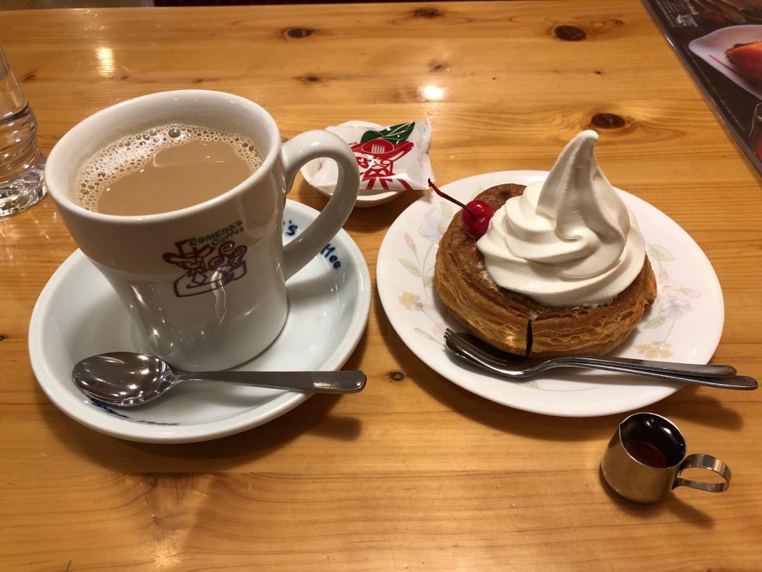 拿鐵咖啡+シロノワール