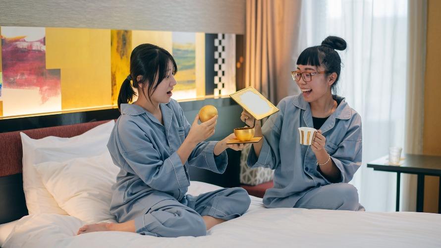 金泽站只要10分钟 三井花园饭店金泽的金箔套房 享受传统工艺之美