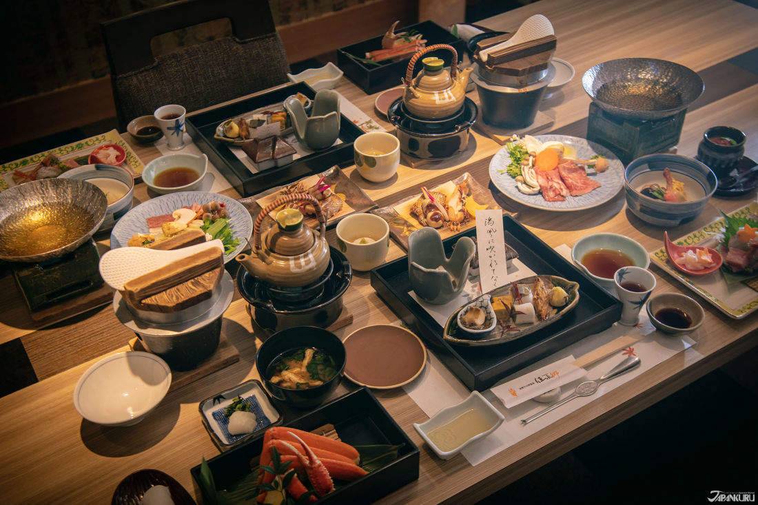 The Authentic Japanese, Kaiseki