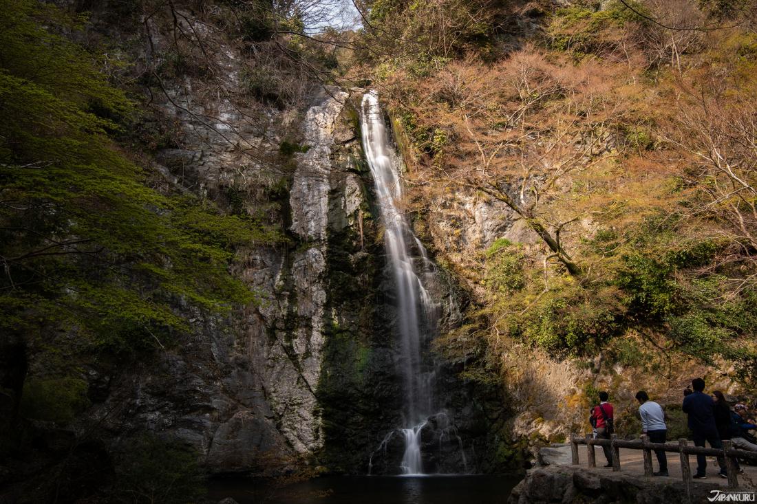 日本百名瀑「箕面公園」