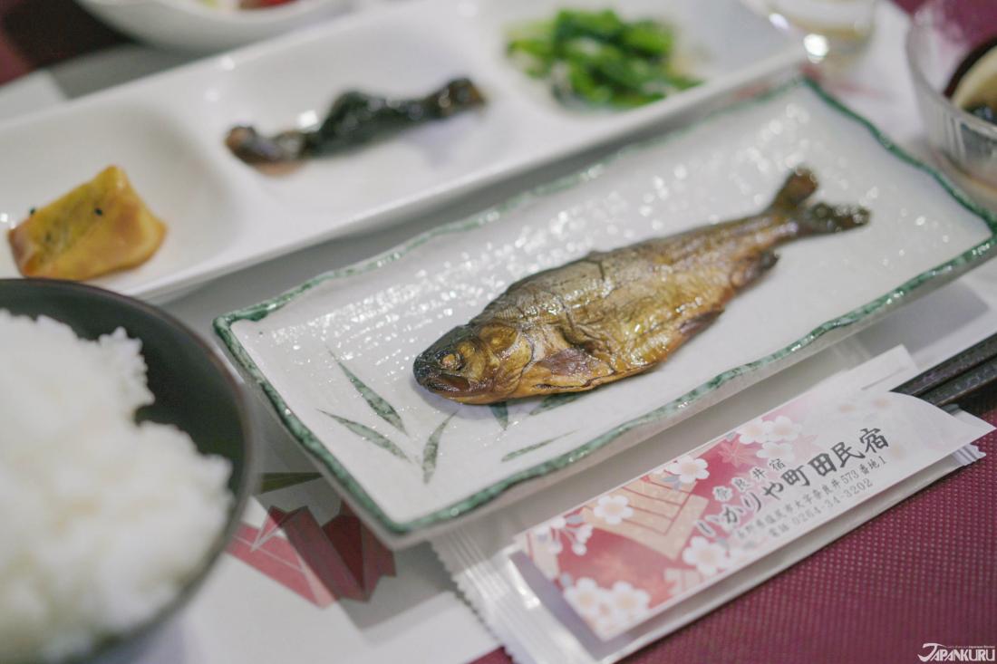 일본인의 아침 밥상 '생선구이'