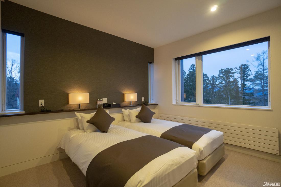 3개의 객실룸 완비로 여유있는 잠자리를!