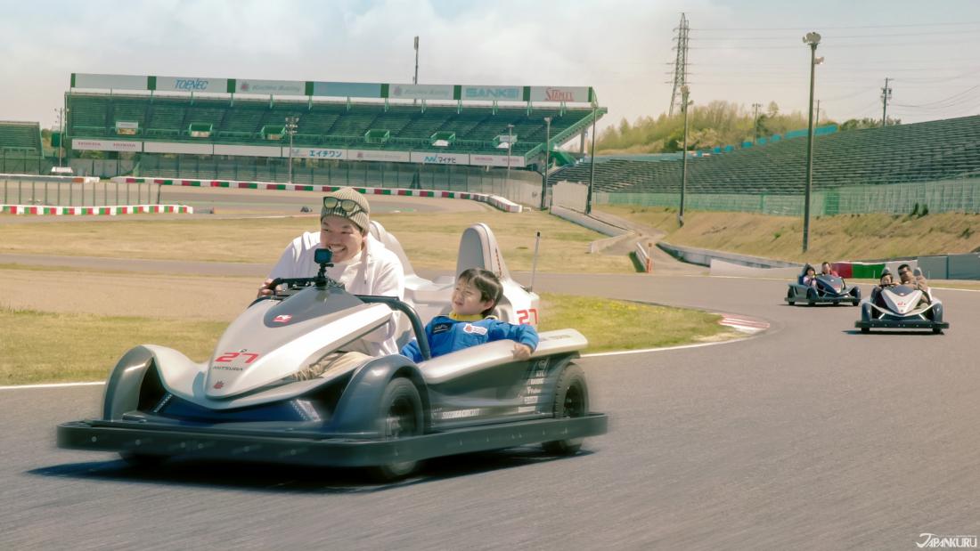 스즈카 서킷에서는 누구나 F1 레이서!