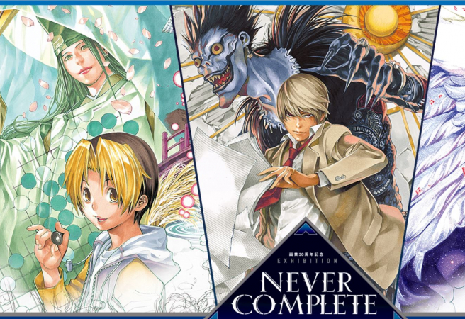 If you've read Death Note, orwatched the anime, then you've seen the impressive talent of Takeshi Obata at work! (Even if some of us weren't so sure about the second half of Death Note, the artdid remain consistently well-executed.)  Also known for Hikaru no Go and Bakuman, this famous manga artist is celebrating 30 years creating beautiful illustrations for some of our favorite stories.Head to the exhibition totake a look atObata's work throughout his career, 500 carefully chosen original paintings and panels from the artist's archive, and enjoy the chance to seeit all up close! (And go home with some limited-edition Death Note, Bakuman, and Hikaru no Go souvenirs, of course.)  If the end of Death Noteleft you wanting more, a special Death Note one-shot manga is due to be released alongside the event.  Tokyo: July 13 ~ August 12, 2019 Niigata: September 14 ~ November 10, 2019 Osaka: Spring 2020