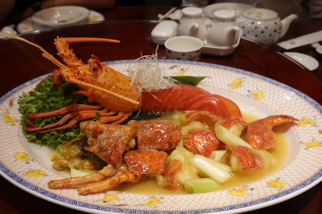 고급 대하새우 요리! (16,000엔)