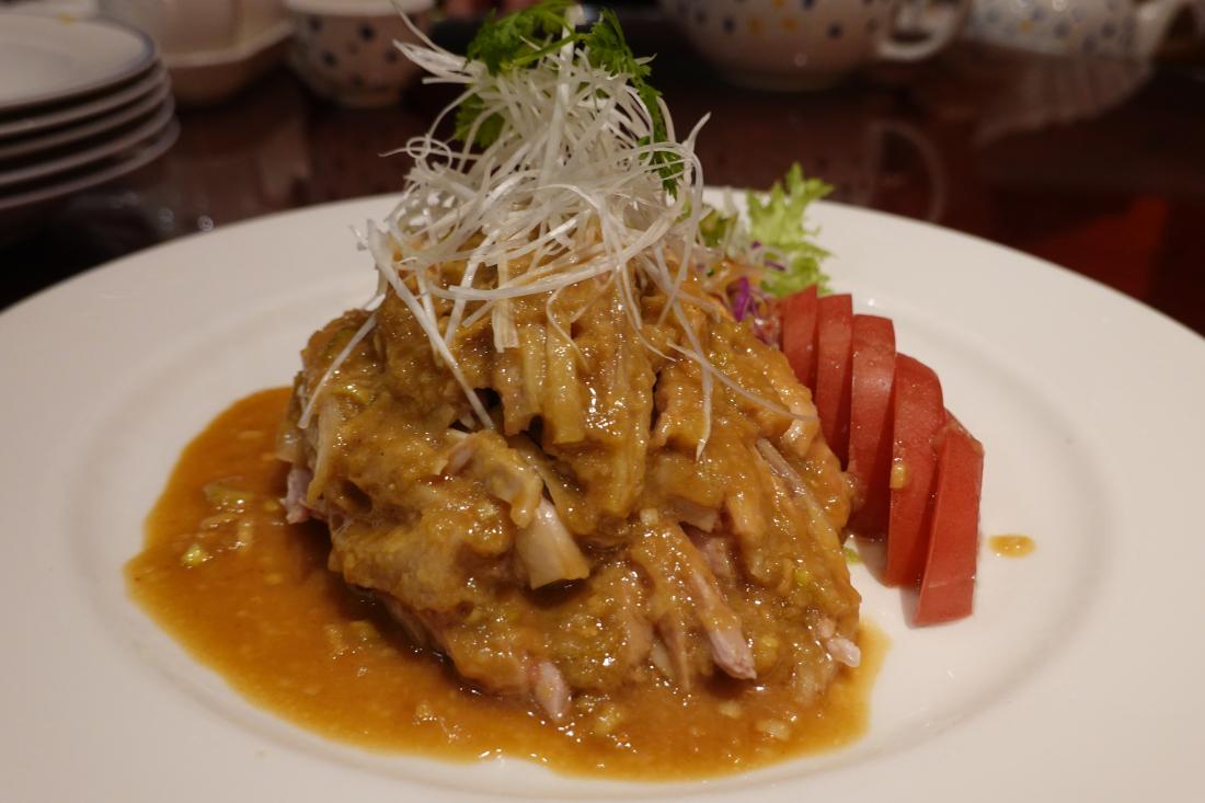 중국식 닭고기요리 방방지(バンバンジー)