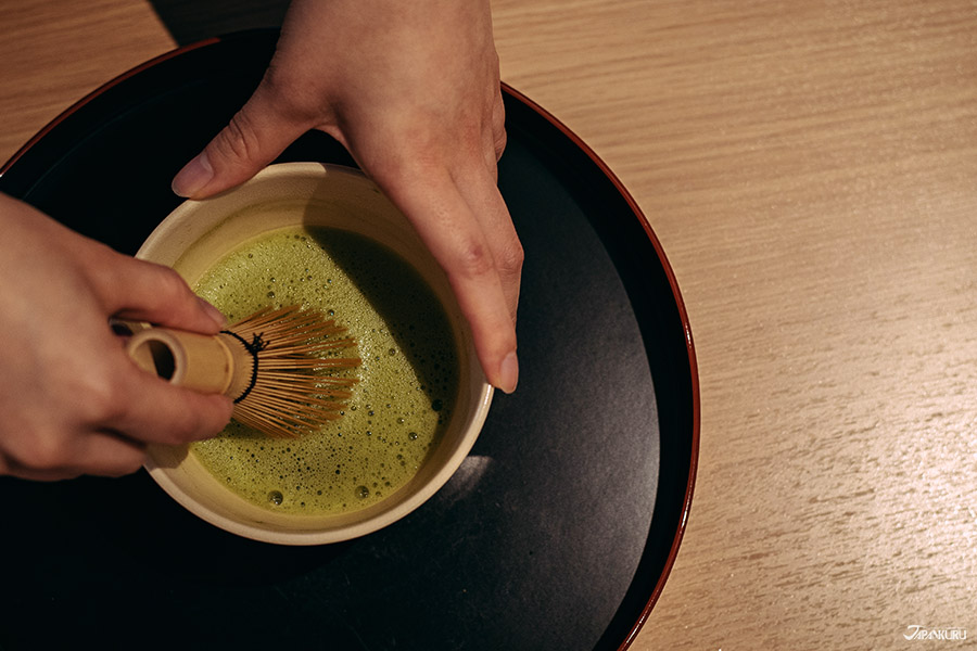 Make matcha for your own little tea ceremony.