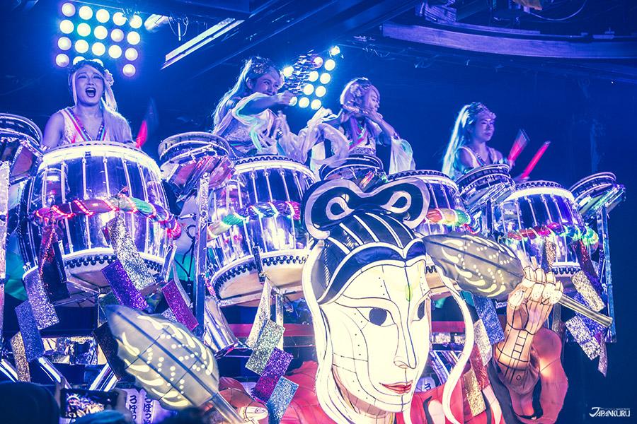 Spectacle ①: Bataille de percussions Taiko & Célébrations à la Japonaise