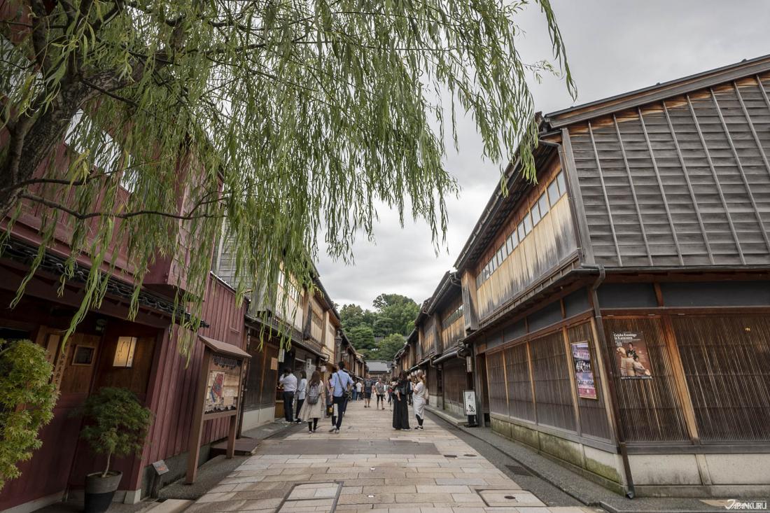 가나자와 3대 찻집거리(茶屋)