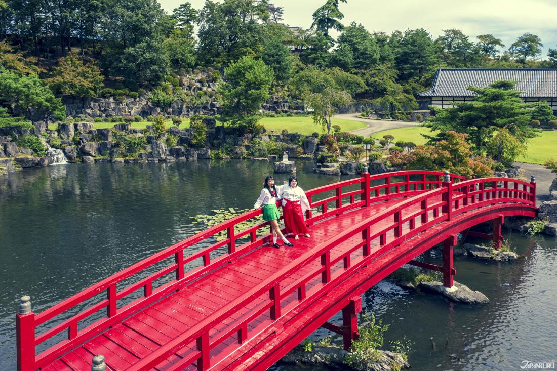 L'étang de Ryuujin Ike (龍神池)