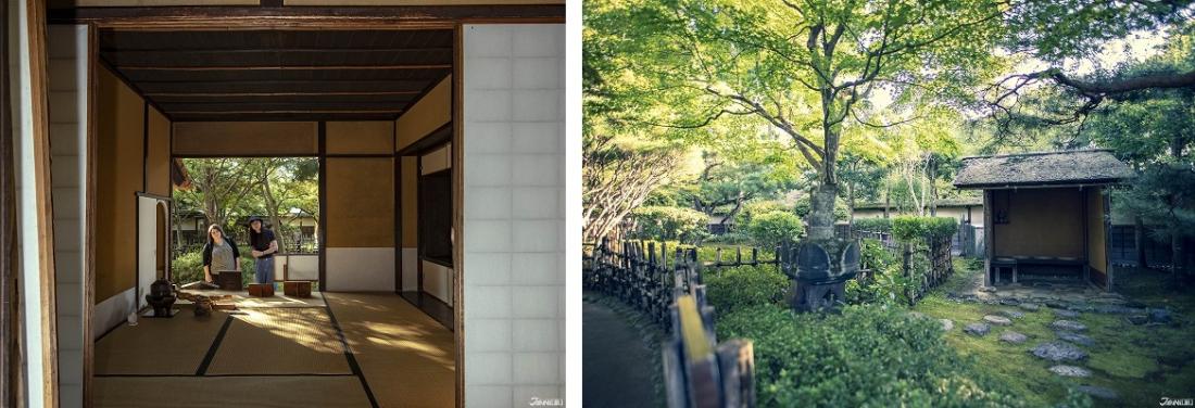 La maison de thé et le jardin de Rinkaku