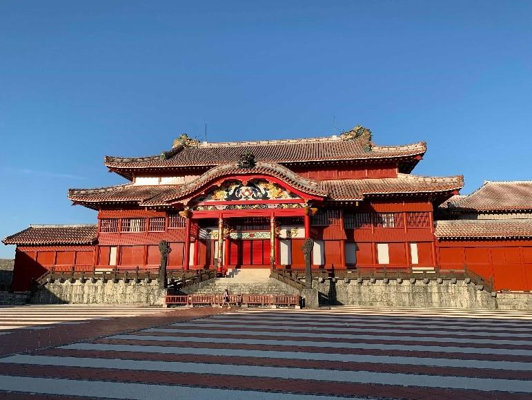 ▲首里城正殿(圖片來源:JAPANKURUFUNDING)