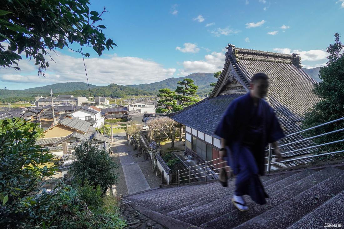 137개의 계단이 인상적이였던 가에츠 텐만궁(加悦天満宮)