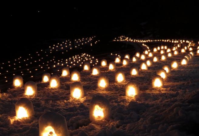 冬季旅遊推薦:日本夜景遺產級浪漫雪夜點燈  櫪木湯西川溫泉KAMAKURA祭