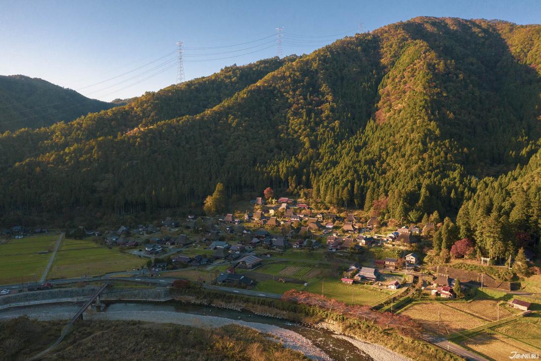 교토의 가야부키 부락 미야마(美山)