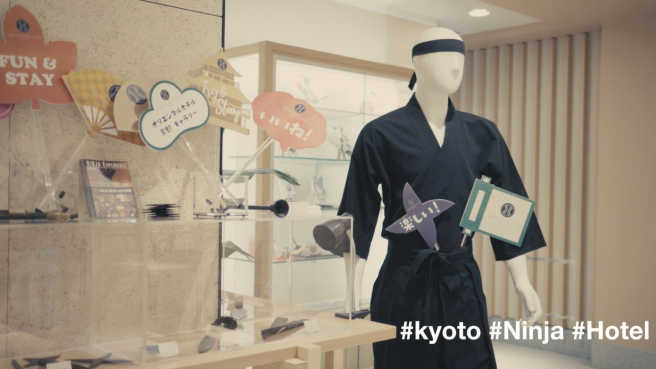 Polishing Our Ninja Star Skills at Our Favorite Kyoto Gallery + Hotel
