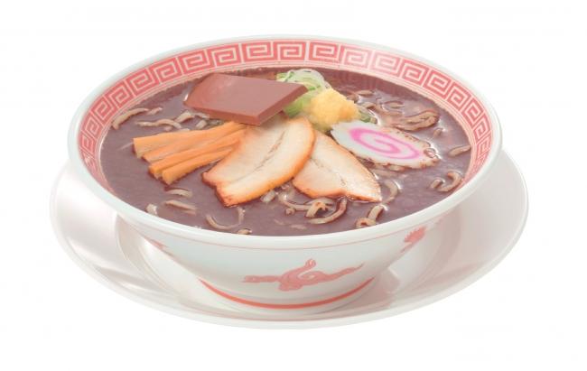 초콜릿 라멘_640엔(세금포함)