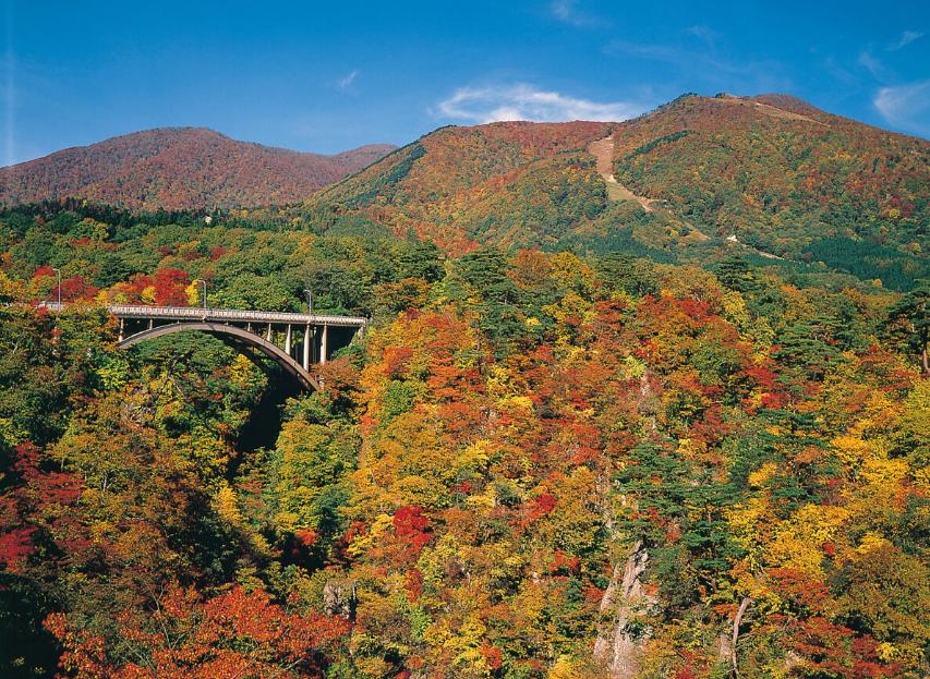 Hẻm núi Naruko vào đầu mùa thu