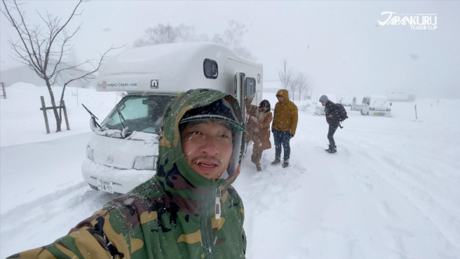 Our Battle with the Snow of Shiga Kogen Ski Resort - in a Camper Van