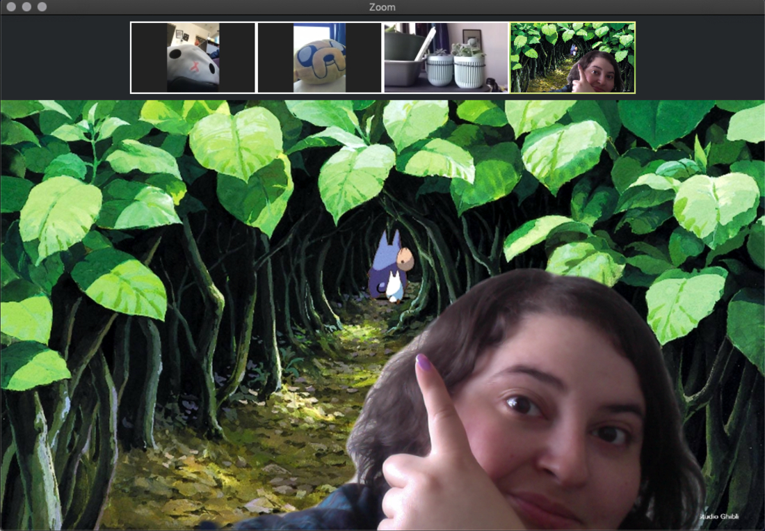 Make Work From Home Fun With Ghibli Zoom Meeting Backgrounds