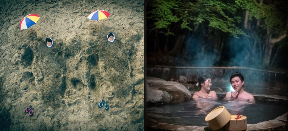 砂むし温泉 VS 霧島温泉