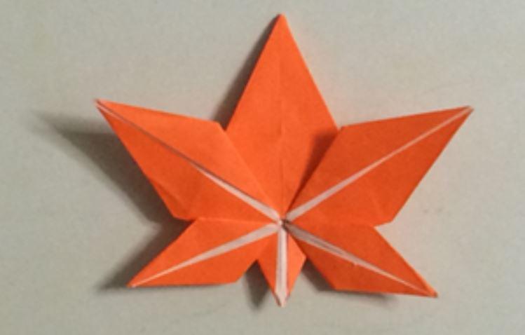 Maple leaf | ORIGAMI | 478x749