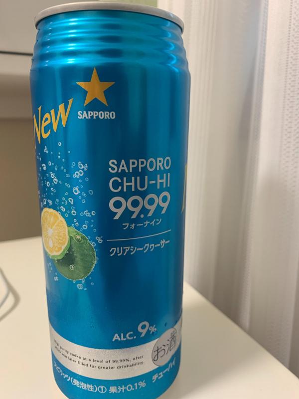 SAPPORO CHU-HI 99.99 フォーナイン