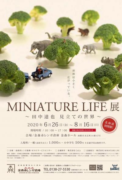 นิทรรศการโมเดลจิ๋ว Miniature Life by Tatsuya Tanaka (ฮาโกดาเตะ)