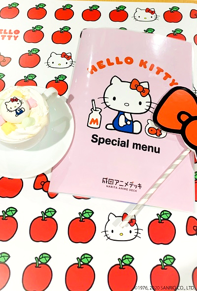 Hello Kitty Cafe at Narita Airport - Pop-Up Cafe (Tokyo)
