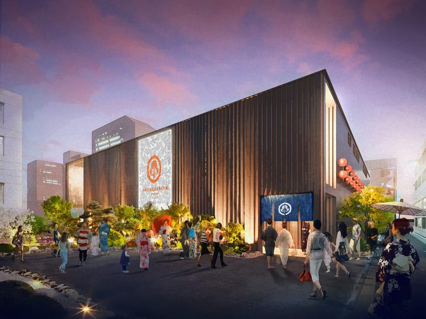 日本金鱼艺术展进化 艺术水族美术馆Art Aquarium东京日本桥即将登场