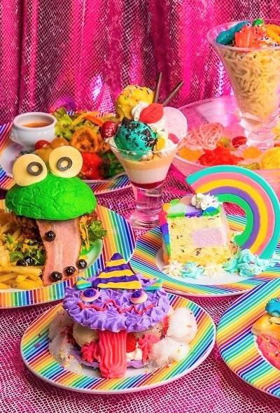 Kawaii Monster Cafe 5th Anniversary Celebration Lunch (Tokyo)