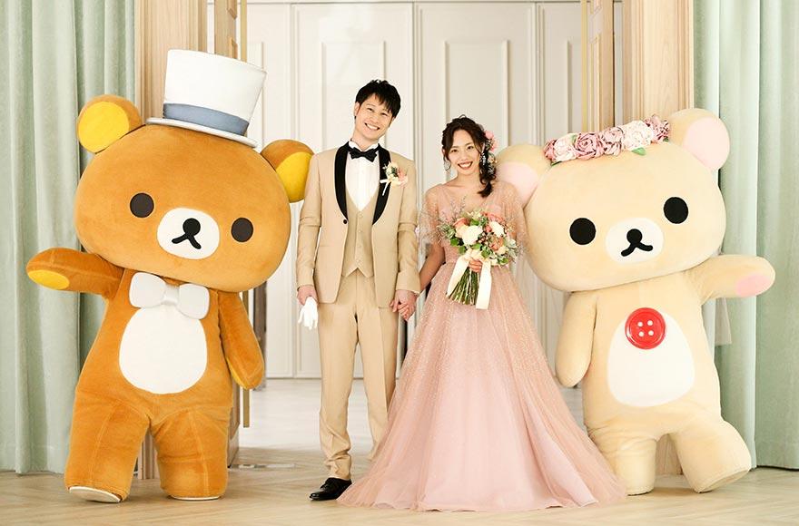 拉拉熊主题婚礼日本登场!超萌拉拉熊成为你的结婚见证人吧
