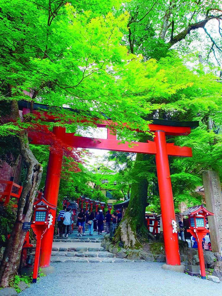 贵船神社:京都著名恋爱结缘圣地 藏着日本最恐怖传说