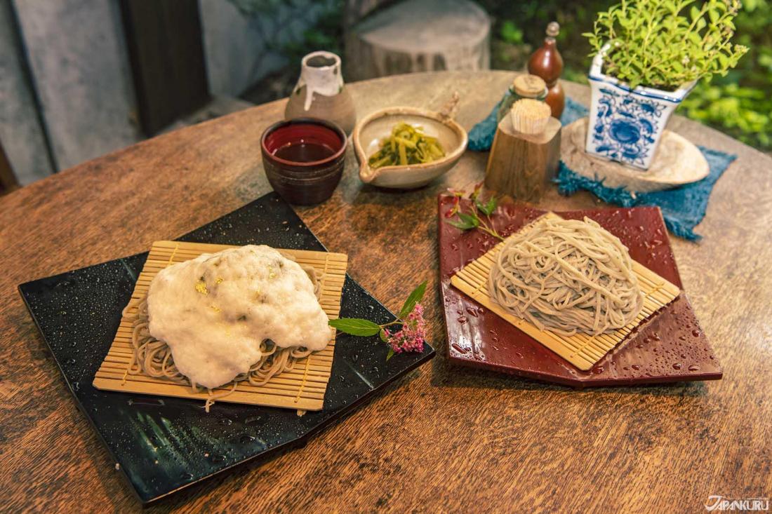 아즈미노의 향토음식 '소바'