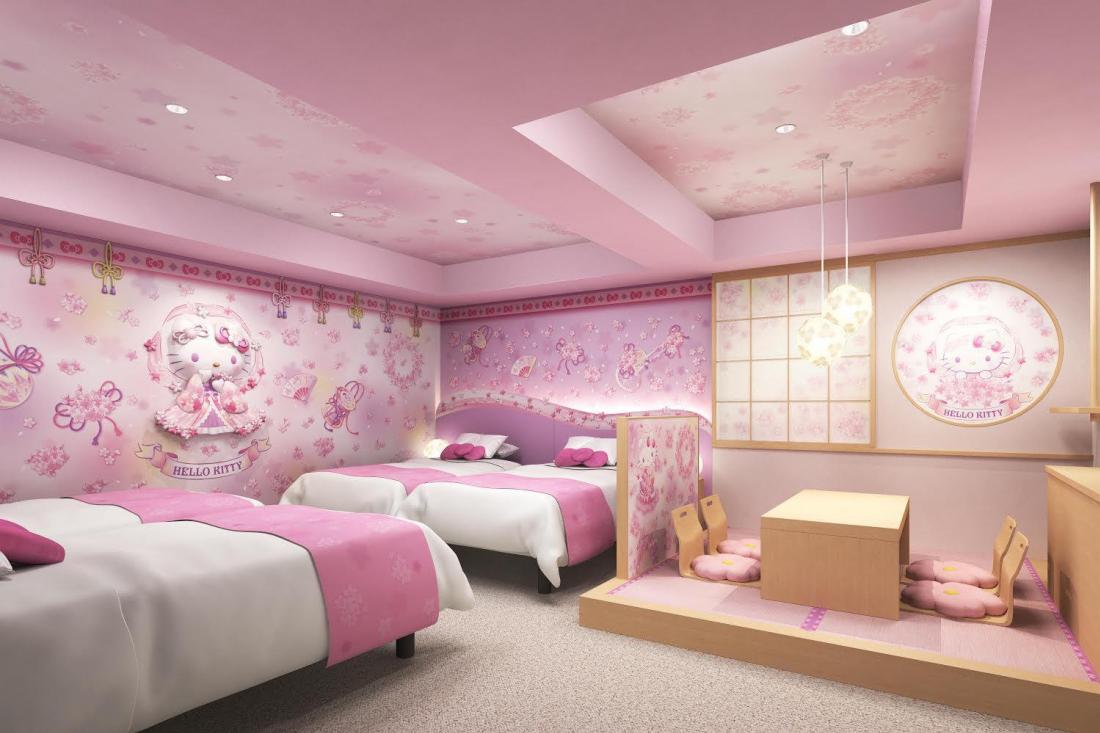 东京23区唯一!Hello Kitty主题房间浅草东武饭店诞生 预约8月开跑