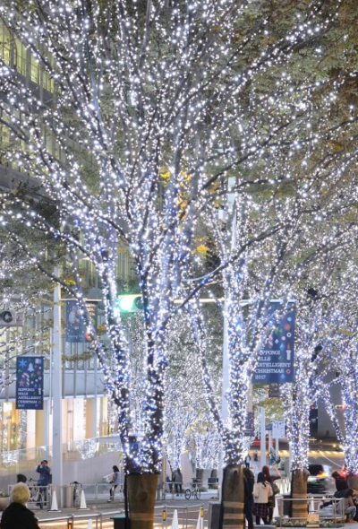 Roppongi Hills Christmas 2020 (Holiday Lights, Tokyo)